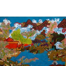 Azië met Tempel - Esther van Goor