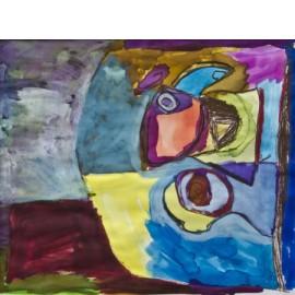 Abstract (kleurenvlakken) - Annette Koenderink
