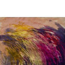 Abstract (paars) - Gerard Flinkers