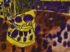 Abstract (paars met geel) - foto 1442