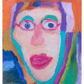 Zelfportret - Trudy Voerman