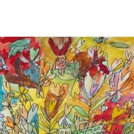 Duizelige vlinder - Trudy Voerman