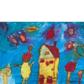 Huis met zonnetjes - Mini Nordkamp