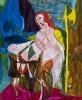 Vrouw met rood haar - foto 1768