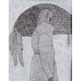 Mevrouw in de regen - Monique van der Zalm