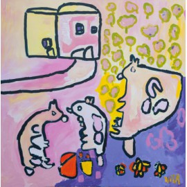 Roze dieren - 4983