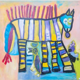 Zebra met stekels - Tineke Vierhoven