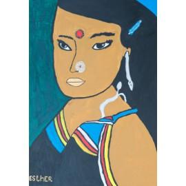 Indisch meisje - Esther van Goor