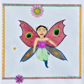 Vlindervrouw - Christa Vriezema