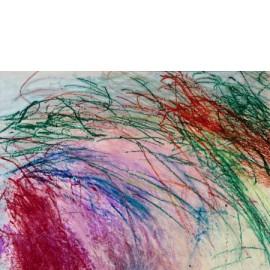 Abstract  (landschap in zalm-groen) - Gerard Flinkers