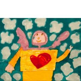 Engel met viltenhart - Martha van der Veer