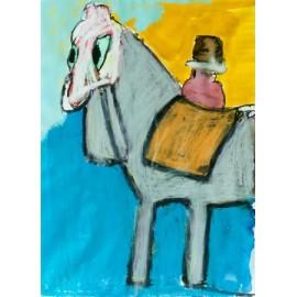Paard met groene ogen - Bertus Bruns