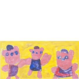 3 biggetjes - Ronnie Achterhuis