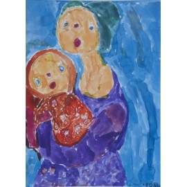 Moeder met kind - 4953