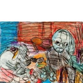Abstract (Witte wieven) - Annette Koenderink