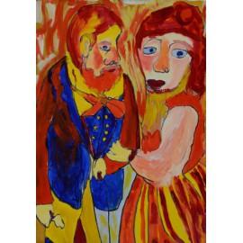 Man en vrouw - Margöt van der Velde