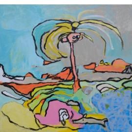 Abstract (Spriethaar) - Adele Haverkate