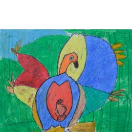 Vogel in de buik - 5020