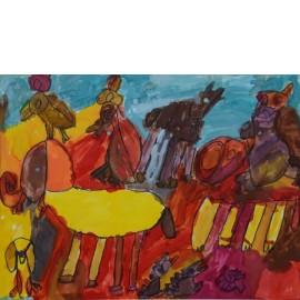 Gele olifant - Tineke Vierhoven