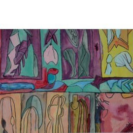 Raamdecoratie - Jolanda Rekers
