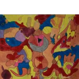 Abstract (Kleurenpracht) - Marijke Biemans