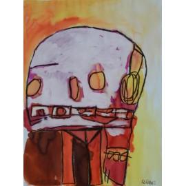 Abstract (buitenaards wezen) - Annette Koenderink