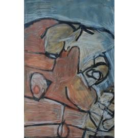 Abstract (gezicht) - 9757