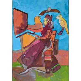 Deftige dame - Margöt van der Velde