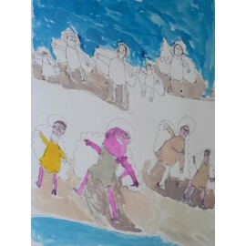 Engelen in de wolken - 4983