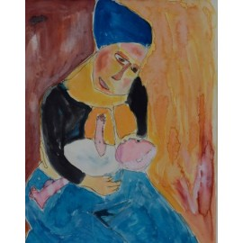 Moeder en kind - Ronnie Achterhuis