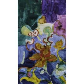 Bloemen in kleur - Margöt van der Velde