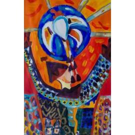 Abstract (Vliegende engel) - Margöt van der Velde