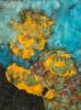 Abstract (oker-groen-blauw) - foto 1339