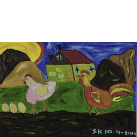 Kip en haan - Sandra Kolk