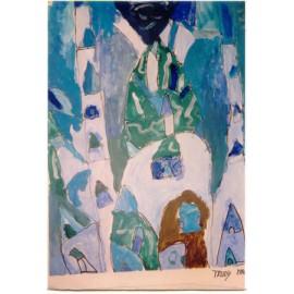 Blauwe stad - Trudy Voerman
