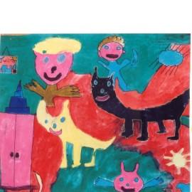 Zwarte kat - Marijke Biemans