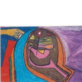 Abstract (rondom paars) - Jolanda Rekers