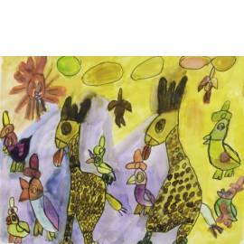 Zonnige dierendag - Tineke Vierhoven