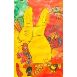 Geel konijn - 5003