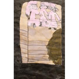 3 kleuters op hek - Jose de Haan