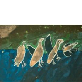 Vaandel (vogels) - Groepswerk