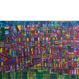 Groenstrook in stad - Richard Nijhuis