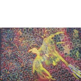 Vogel vliegt door het vuur - Monique van der Zalm
