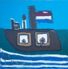 Boot op het water - foto 2804