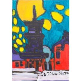 Parijs bij nacht - Shafy Mobin