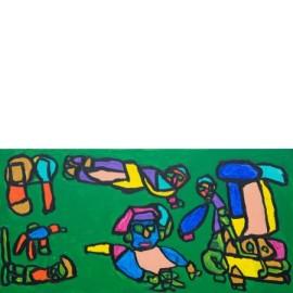 Vliegen in groen - Sharone Zandhuis