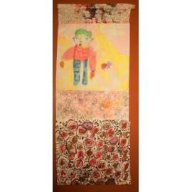 Vaandel (Veel bloemen) - Groepswerk