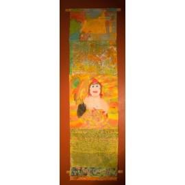 Vaandel (Vrouw met fruitmand) - Groepswerk
