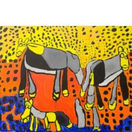 Paarden - Sharone Zandhuis