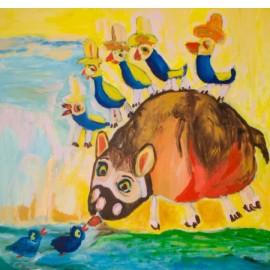 Vijf vogeltjes - Tineke Vierhoven